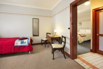 Twin Single Room at Maldon's Eaglehawk Motel