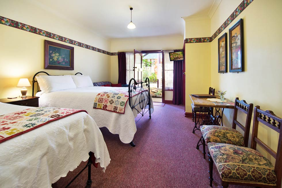 Affordable accommodation within the Central Victorian Goldfields.